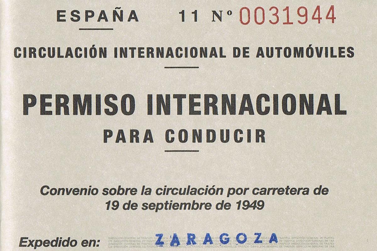 International driver license