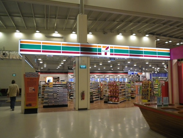One 7 Eleven in the Singapore Budget Terminal!