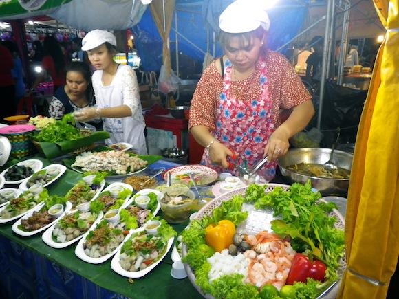 One night in Ban Phe