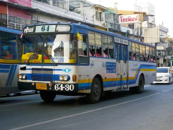 Bangkok urban buses