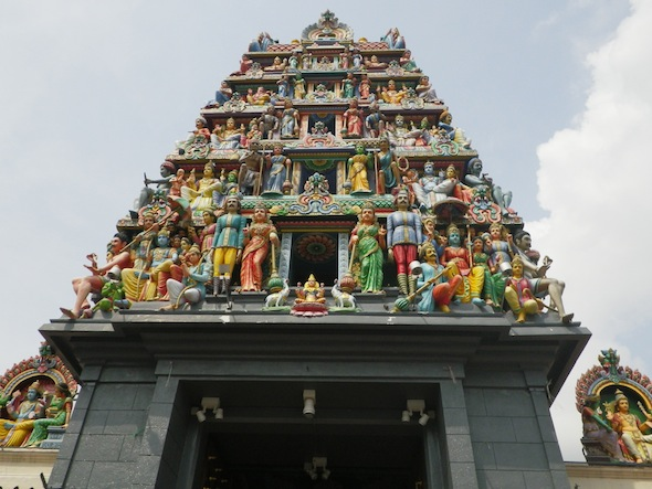 The oldest temple of Singapore