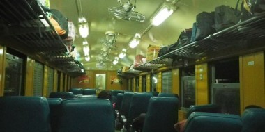 13 hour train in Thailand