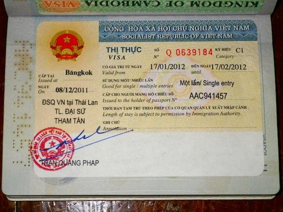 30 days VISA for Vietnam