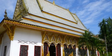 One temple in Pakse