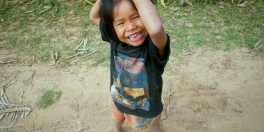 Happy kid, happy Laos