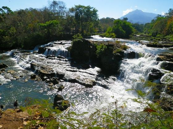 Waterfall of Tad Lo, Laos