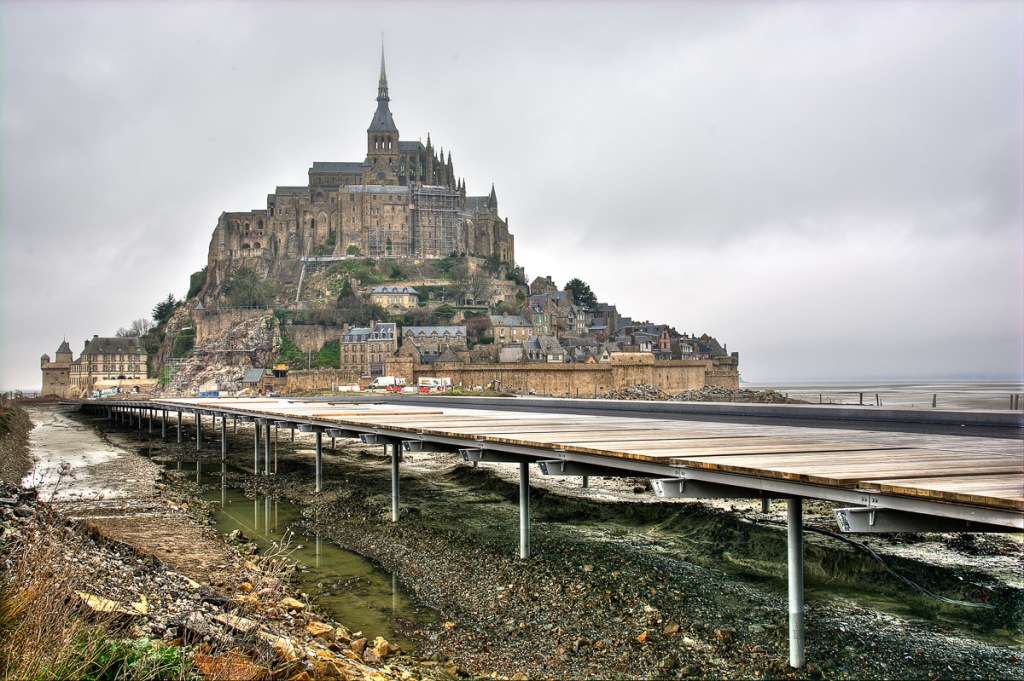 Island of Mont Saint-Michel