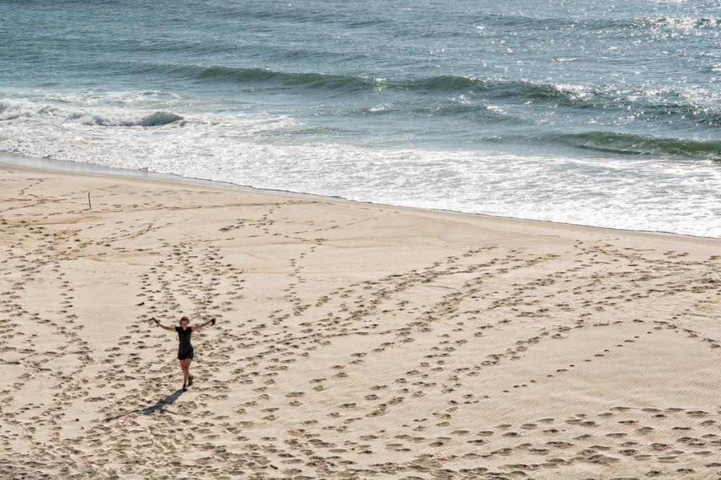 Oh yeah! A beach!