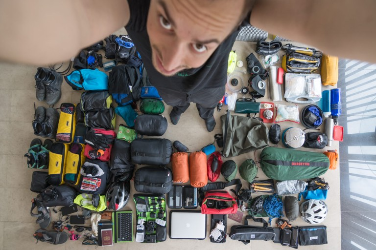Gear for bicycle touring