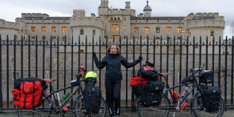 Bicycle touring from London