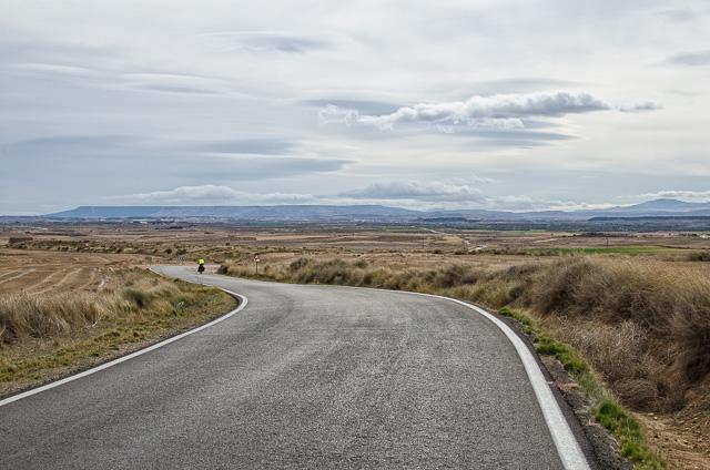 Aragon's arid landscape
