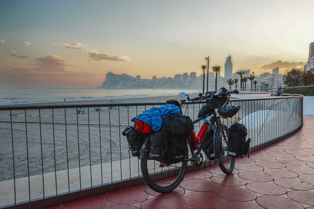 Cycling in Benidorm