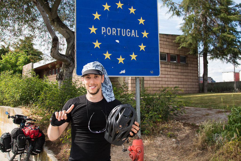 Leave your bicycle helmet at home for cycling in Portugal, or not