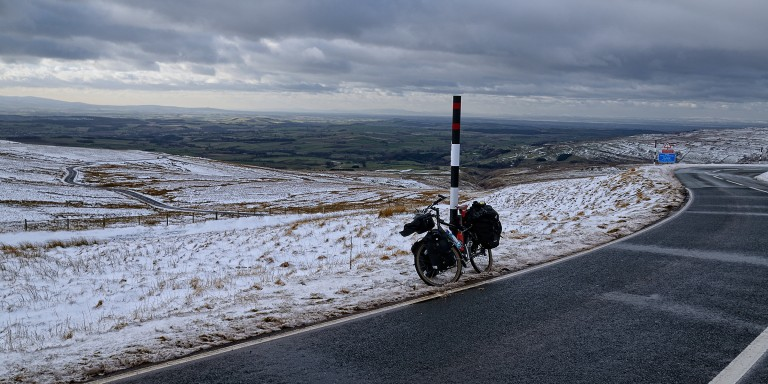 13 days of winter cycling around the center of England