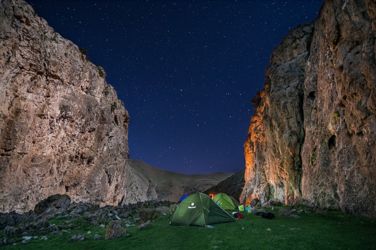 How to travel and do wild camping