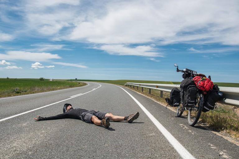 Bicycle touring around the world